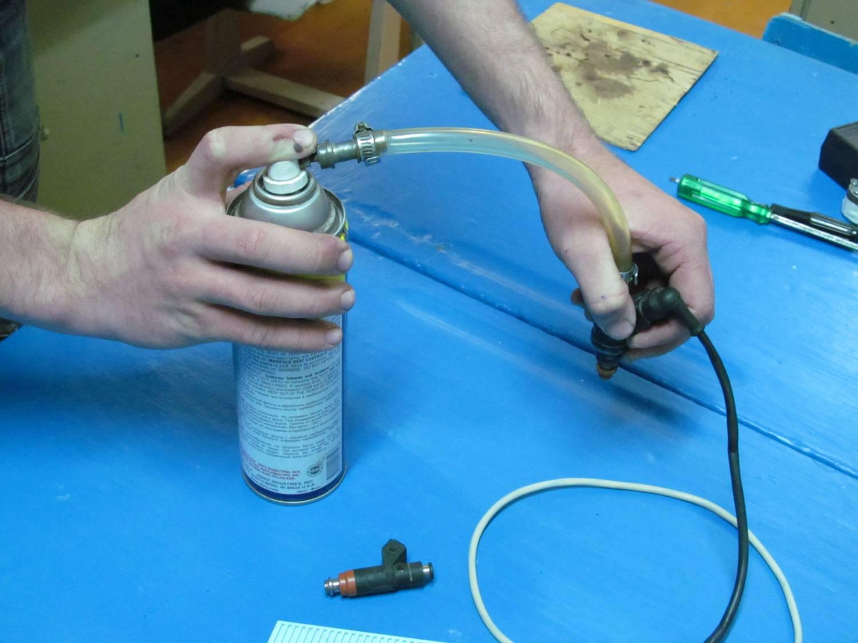 Как сделать прибор для промывки форсунок своими руками